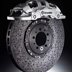 Extrema caliper and CCM brake disc